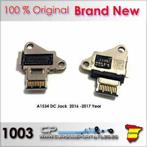 1 Pièces Dc Jack Usb-C Macbook A1534 2015 - 2017 Only Brand Nouveau 100% Orig