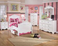 Ashley Furniture Exquisite 7 Piece Twin Sleigh Storage Bedroom Set