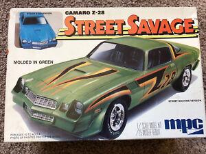 Vintage MPC 1978 Camaro Z-28 Street Savage 1:25 Scale Model Kit (Complete ? )