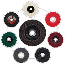 "15Pcs 4"" Polishing Wheel Flap Discs Buffing Polishing Pads set for Angle Grinder"