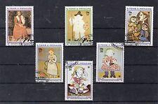 Santo Tomé y Principe Pintura Picasso Series del año 1981 (DG-373)