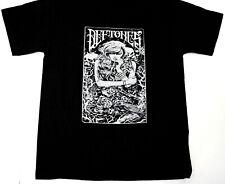 Vintage DEFTONES Rock Nu Metal Tour Black T-shirt S-234XL Unisex M484