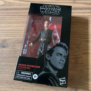 "Star Wars Black Series Jedi Padawan Anakin Skywalker 6"" Inch Figure"