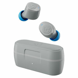 Skullcandy Jib True Wireless Earbuds - Light Grey/Blue