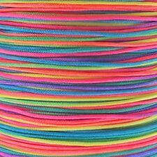 0.6 mm SHAMBALLA / Cordon nylon nouage chinois-Rainbow - 5m