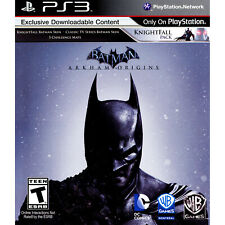 Batman: Arkham Origins PS3 [Brand New]