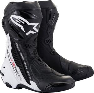 Alpinestars Supertech R Vented Boots Black/White US 9.5 / EU 44