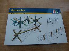 L68 Modelo Kit Italeri 401-barricadas - 1/35