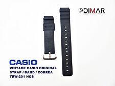 VINTAGE CASIO ORIGINAL STRAP/BAND/CORREA TRW-201 NOS