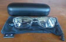 OAKLEY Airdrop 143 Gray Shadow Prescription RX Eyeglasses W/ Case ox8046-0351