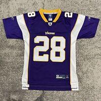 Reebok NFL Minnesota Vikings Adrian Peterson Football Jersey Youth Medium