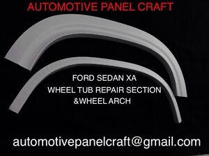 Ford XA XB SEDAN/ COUPE  Inner Wheel Tub And Wheel Arch Set