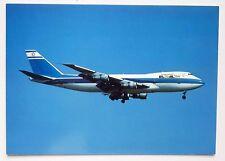 EL AL Boeing 747-258B Postcard