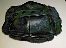 Trooper Hat, Black, Deolon/Pile, Size 6-7/8 ( S ) , NEW, Langenberg Hat, USA