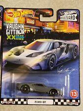 Hot Wheels Premium Ford Gt - Vaughn Gittin Jr. - Boulevard - Car Culture Premium