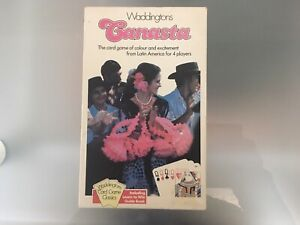 Canasta By Waddingtons 3 Pack Of Cards Edition c1980