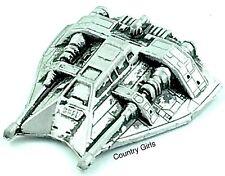 Star Wars Micro Machines Hoth Rebel Snow Speeder Ship Empire Strikes Back Silver