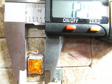 AMBER FROM BALTIC RUSSIA PENDANT MOUNTED IN SILVER STONE WEIGHT 2.35Ct