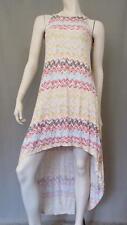Anthropologie Ella Moss Dress S Print Drop Hem Sundress