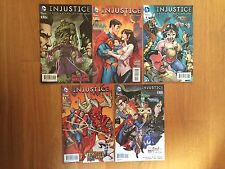 LOT DE 5 COMICS INJUSTICE YEAR THREE Batman Superman Wonder Woman
