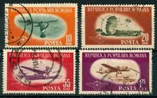 ROMANIA OLD STAMPS -  1953 - Aviation - Air Sports - USED