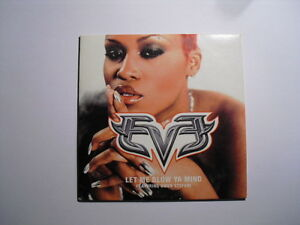 Eve Featuring Gwen Stefani ‎– Let Me Blow Ya Mind CD Single Hip Hop 2001