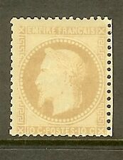 """FRANCE STAMP TIMBRE N° 28B"""" NAPOLEON LAURE 10c BISTRE TYPE II """" NEUF x TB"""