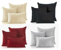 "*FILLED*Savoy Cushion Covers,4 Great Colours 2 Sizes 18""x18"" Or 22""x22"" Free P&P"