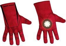 Boys L 8 10 12 Iron Man Mark VI Muscle Suit Costume + gauntlets + gloves NIP