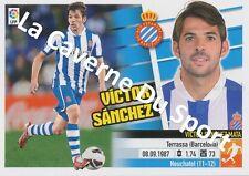 N°09 VICTOR SANCHEZ MATA # ESPANA RCD.ESPANYOL STICKER PANINI ESTE LIGA 2014