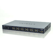 Netgear ProSafe 10/100/1000 12 Port Gigabit Ethernet L2 Managed Switch GSM7212