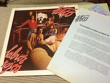 "TEBEO - LABIOS ROJOS 12"" LP ZAFIRO 79 - + INNER + RADIO PRESS SHEET - POWER POP"
