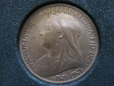 More details for queen victoria one penny coin year 1900