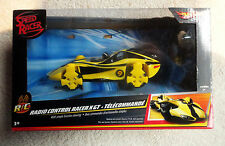 Speed Racer Radio Control Car - Yellow X Gt - Hot Wheels - New