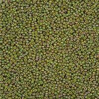 Miyuki Delica 11//0 Seed Beads Frosted Opaque Glaze Beige DB2285 7.2g P86//10