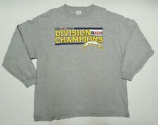 Used San Diego Chargers 2006 AFC East Division Champions 2XL, LS T-Shirt.