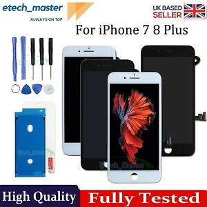For iPhone 7 8 Plus LCD Replacement Screen Digitizer Assembly 3D Touch Display