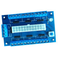 24/20-pin ATX DC Power Supply Breakout Board