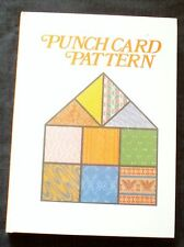 New Pattern Book for All 24-stitch punchcard machine knitting - 1,100+ patterns
