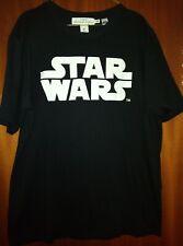 MENS H&M Black White Star Wars Logo Graphic Tee T-Shirt Size Medium Chest 44inch