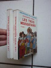 Biblioteca Della Jeunesse / Dumas / i Tre Moschettieri 1/2 con Fodera