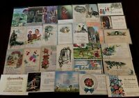 Lot of 40 Retro SUNDAY SCHOOL CHURCH RELIGIOUS POSTCARDS 1950-70'S -33 UNPOSTED