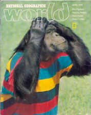 national geographic WORLD-APR 1978-SOCCER-PLAYING CHIMPS.