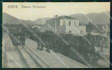 Vicenza Thiene Stazione Treno cartolina QT2660