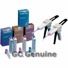 Genuine GC Examix NDS Vinyl Polysiloxane Impression 2X48ml Cartridges Reg. Body