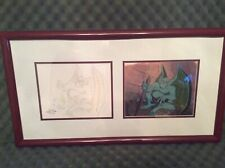 Rare Disney Gargoyles Original Cel Art from First Episode w/COA & Disney Seal