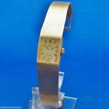 Rectangle Solid Gold Strap OMEGA Wristwatches