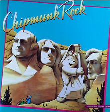 THE CHIPMUNKS - CHIPMUNK ROCK - RCA 1-4304 - 1982 LP - GATEFOLD COVER