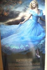 """DISNEY STORE """"CINDERELLA"""" LIMITED EDITION #1 of 4000 LIVE ACTION MOVIES DOLL 17"""""""