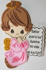 Recuerdos Para Bautizo Rosita Para Nina Pink Angel Party Favor Girl Baptism Pray